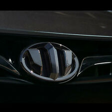 New Brenthon Dark Chrome Front+Rear Emblem For Hyundai Santa Fe Sports 2013~2017