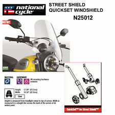 HARLEY XL1200, XL883 SPORTSTER 2004-10 NATIONAL CYCLE QUICKSET WINDSHIELD N25012