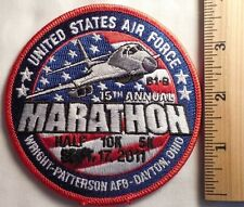 UNITED STATES AIR FORCE 15TH ANNUAL MARATHON PATCH (RUNNING)