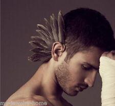 Hot Fashion Feather Ear Cuff Wrap Clip Earring Retro Punk Rock Earrings Ear Clip