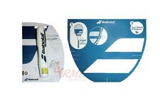 Babolat Tennis Racket String Stencil and White Ink Marker