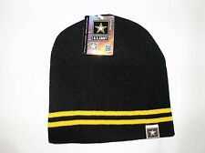 US Military Black Army Star Logo Watch Cap Stocking Winter Hat Free Shipping