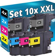 10x XXL TINTE PATRONEN für BROTHER DCP-J4120DW MFC-J5625DW J5720DW Kartusche SET