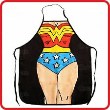APRON-ATTITUDE FUNNY-SEXY SUPER WOMAN GIRL LADY-COOKING-COSTUME-HENS NIGHT PARTY