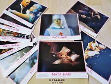 MATA-HARI ! sylvia kristel  jeu 12 photos cinema lobby cards