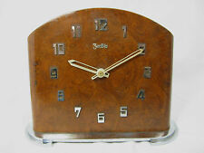 FEINE MECHANISCHE ART DECO TISCH UHR  #  ZentRa #  ART DECO TABLE CLOCK