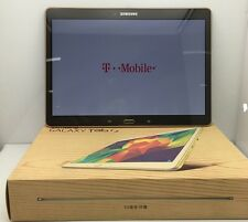 New Samsung Galaxy Tab S SM-T807T 16GB Wi-Fi 4G T-Mobile 10.5in Titanium Bronze