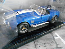 AC Cobra 427 Roadster 1965 blau blue white Solido Prestige RAR Schuco 1:18