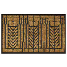 "Frank Lloyd Wright Tree of Life Design Coir Fiber 36"" x 22"" Doormat"