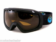 New Dragon Alliance Rogue Snow Ski Matte Black Special Ed. Goggles Brown Lens