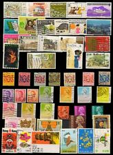 HONG KONG 50 All Different Used Pre 1997-British Period, Large & Small