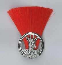 SCOUTS OF TANZANIA - ASSISTANT SCOUT LEADER (RED COLOUR) Metal Plume / Hat Patch