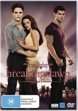 The Twilight Saga - Breaking Dawn : Part 1 (DVD, 2012) region 4