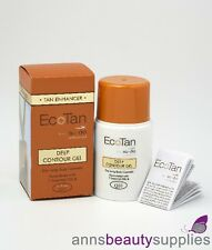 EcoTan Tan Enhancer Deep Contour Gel Body Cosmetic 50 ml Self Tanning Bronzer