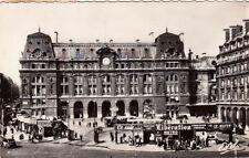 PARIS la gare saint-lazare timbrée 1958