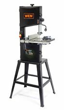 """WEN 3962 Two-Speed Band Saw with Stand and Worklight 10"""" 10 Inch"""