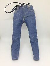 1/6 Hot Toys Back To The Future MMS257 Marty Mcfly Suspenders Jeans Loose Figure