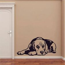 Beagle Wallsticker Wallpaper Wand Schmuck 30 x 55 cm Wandtattoo