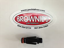 Brownie's Third Lung male QRS Fitting, Hookah Diving, Scuba Diving