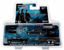 GREENLIGHT 2015 CHEVROLET SILVERADO & 1967 IMPALA SUPERNATURAL 1/64 CAR 31020 C