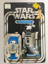 "Kenner Star Wars 1977 Original ""Un-Punched"" 12-back R2-D2 Action Figure/Card"