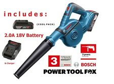 Bosch GBL 18V-120 BLOWER ( Inc 2,0AH Battery & Charger) 06019F5100 3165140821049