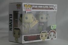 FUNKO POP! STRANGER THINGS ELEVEN & BARB ECCC 2017 EXCLUSIVE signed Millie Brown