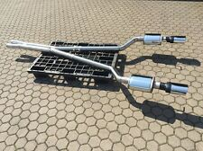 Stainless steel Exhaust system 3in Audi RS6 S6 A6 Quattro