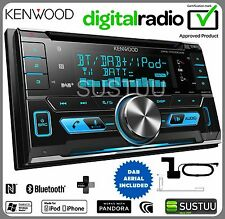 Kenwood DPX-7000DAB 2-din Auto / Van CD AUX USB MP3 Radio iPod DAB Stereo Bluetooth