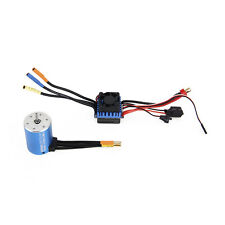 3600KV 3650 Sensorless Brushless Motor 60A ESC Speed Controller for 1/10 RC CAR