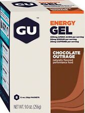 NEW GU Energy Gel Chocolate Box of 8