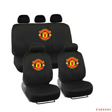 New 9pcs Set Manchester United FC ManU Football Front Rear Car Full Seat Covers