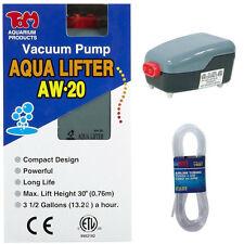 Tom Aquatics Aqua-Lifter Dosing Pump Aw-20 & 25 Feet Of Flexible Air Line Tubing