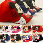 Boys Girls Children Mickey Minnie Adjustable Hip-Hop Hats Snapback Baseball Cap
