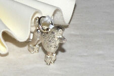 Sterling silver Poodle charm C362As Lot 233A