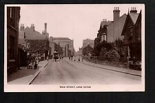 Long Eaton - Main Street - real photographic postcard