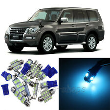 Ice Blue 14pcs Interior LED Light Kit for 2007-2015 Mitsubishi Montero Pajero