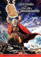 The Ten Commandments (Six-Disc Limited Edition Blu-ray/DVD Combo Gift Set) DVD,