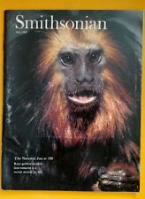 SMITHSONIAN MAGAZINE JULY1989 NATIONAL ZOO TAMARIN WOMEN'S BASEBALL TOBACCO USED