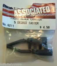 NEW Team Associated #6211 Front Block Carrier 5 Degree Caster