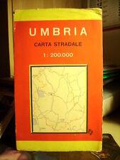 UMBRIA  Carta Stradale.   Cod.651        Scala  1 : 200.000