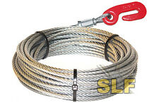 "IGLAND NORSE 3 POINT HITCH LOGGING WINCH CABLE 165' X 3/8"" WITH HOOK SKIDDER NEW"