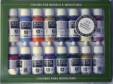Napoleónicas Guerra Colores 16 Botella Sistema De La Pintura val70110 Modelo Color Set