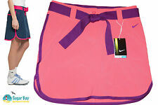 Nike GOLF Ladies Three-in-One Skirt with Detachable Tailored Shorts Pink Purple