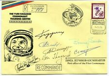 1995 Yuri Gagarin Cosmonaut Training Centre RECCOMANDE COIO3 TM-21 SIGNED SPACE