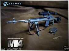 ZY Toys 1/6th Scale Weapon Model M14 Sniper Rifle Gun Toy F 12'' Action Figure