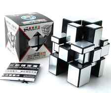 Shengshou Mirror Rubik's Cube Ultra-smooth Magic Cube Speed Puzzle Twist Silver
