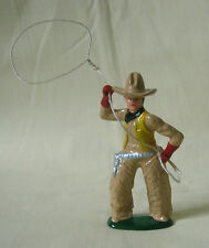 Cowboy with Lasso, Standard Gauge Wild West train figure, New/Reproduction