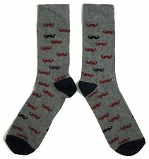 MENS MULTIPLE HIPSTER MOUSTACHE SOCKS UK SIZE 6-11 /EUR 39-45 / USA 7-12