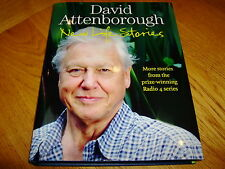 DAVID ATTENBOROUGH-NEW LIFE STORIES-SIGNED-1ST-2011-FINE-UNREAD-COLLINS-HB-RARE